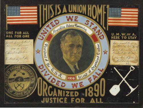 United Mine Workers Folk Art, 1938