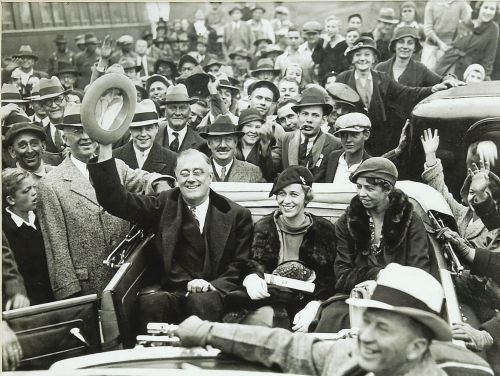 Franklin Delano Roosevelt, Anna Roosevelt Dall and Eleanor Roosevelt, c. January 1934